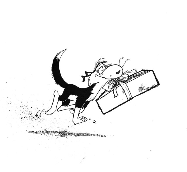 how to draw footrot flats characters